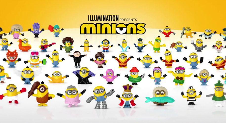 Игрушки Миньоны в Хэппи Мил с 17 июля по 10 сентября 2020 года
