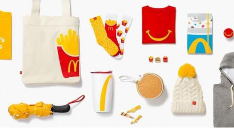 Коллекция одежды и аксессуаров Макдональдс - официальный мерч