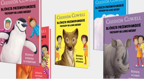 Серия книг Крессиды Коуэлл про Почемучек в Хэппи Мил в апреле-мае 2021 года