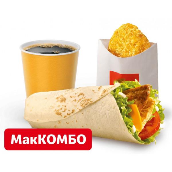 Фреш ролл МакКомбо в Макдональдс