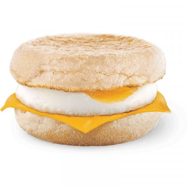 МакМаффин с яйцом и сыром в Макдональдс