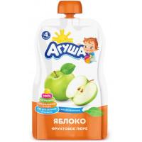 Яблочное пюре «Агуша» за 55 руб