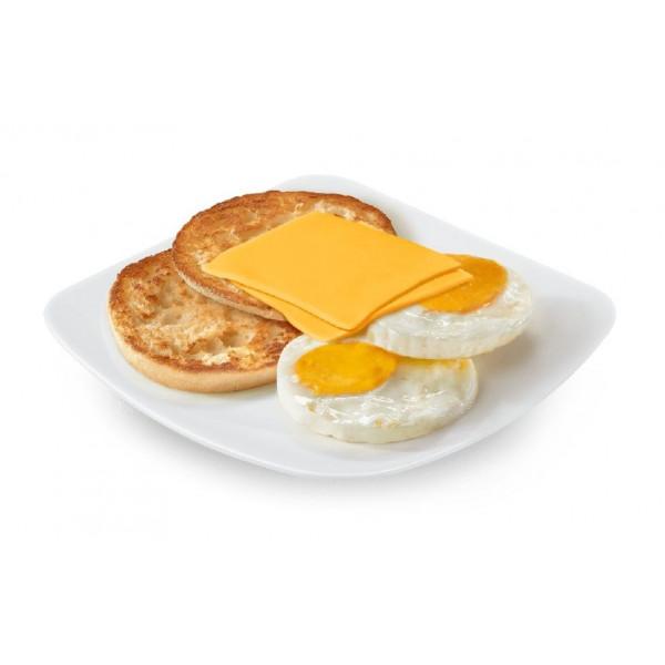 Яичница с сыром в Макдональдс