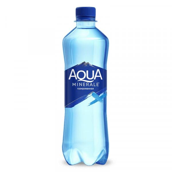 Вода Аква Минерале Газированная в Макдональдс